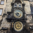 Clock tower in Prague - Stock Photo