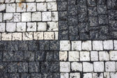 Texture of stone structure road — Stock Photo