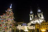 Prague Christmas — Stock Photo