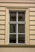 Oude gebouw venster — Stockfoto