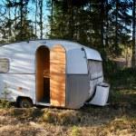 Vintage caravan — Stock Photo
