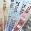Different euro currency — Stock Photo