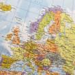 Europe map — Стоковое фото
