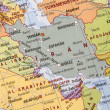 Iran Map - Stock Photo