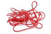 Red wire — Stock Photo
