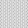 Royalty-Free Stock Vektorgrafik: Seamless floral pattern