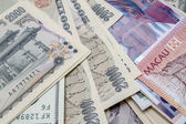Different currencies — Stock Photo