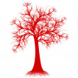Royalty-Free Stock Vector Image: Art tree silhouette