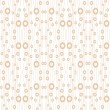 Seamless bubble dots pattern — Stock Vector