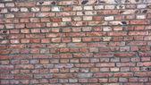 Red bricks wall — Stock Photo
