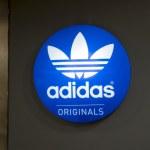 Постер, плакат: Adidas sign