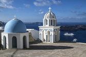 サントリーニ島イア教会 — ストック写真
