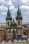 プラハのペンションティン教会 — ストック写真