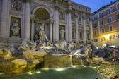 Fontana di Trevi in Rome — Stock Photo