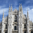 Stock Photo: Cathedral Duomo, Milan, Italy