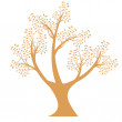 Art tree silhouette — Stock Vector #33179289