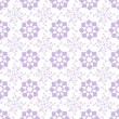 Seamless geometric and floral pattern — ベクター素材ストック