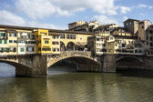 Ponte Vecchio (Old Bridge) in Florence — Stock Photo