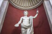 Ancient statue of Julius Caesar, Rome — Stock Photo