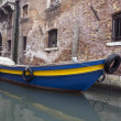Gondola boat,Venice, Italy — Stock Photo