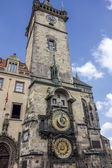 Clock tower of Prague — Stok fotoğraf