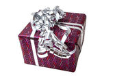 Gift Box with Ribbon Bow — Stock Photo