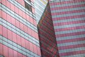 Tall building facade — Stock Photo