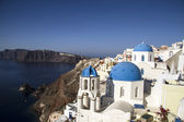 Oia village, Santorini ,Greece — Stock Photo