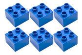 Niebieski bloki — Zdjęcie stockowe