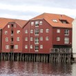 Wooden houses in Trondheim — Foto Stock #38322705