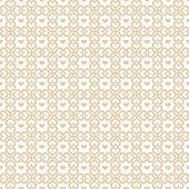 无缝的心图案 — 图库矢量图片