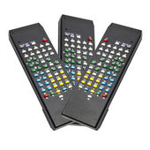 Black remote control — Stock fotografie