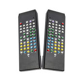 Black remote control — Foto Stock
