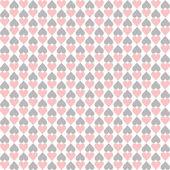 Seamless Hearts Pattern — Stock Vector