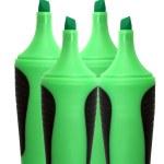 Green highlighter — Stock Photo #43283043