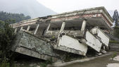 Damage Buildings of Wenchuan Earthquake — Stock Photo