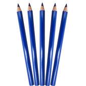 Modrá barva tužka — Stockfoto