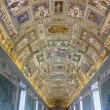 Geographical maps Gallery in Papal Palace in Vatican — Stock Photo #44130493