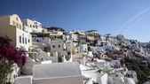 Traditional architecture Santorini — Foto de Stock
