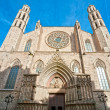 Royalty-Free Stock Photo: The Cathedral of Santa Maria del Mar, Barcelona.
