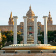 The National Museum in Barcelona, spain. — Stock Photo