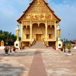 Wat That Luang, Laos. — Photo