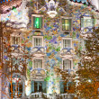 Stock Photo: BARCELON- DECEMBER 16: facade of house CasBattlo