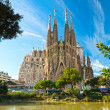 BARCELONA, SPAIN - DECEMBER 14: La Sagrada Familia - the impress — Stock Photo #12236509