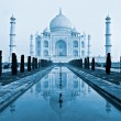 Taj mahal, Agra, India. - Foto Stock