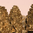 Bayon tower, Cambodia - Stock Photo