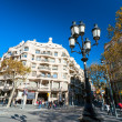 Royalty-Free Stock Photo: BARCELONA, SPAIN - DECEMBER 18: Casa Mila, or La Pedrera, on Dec