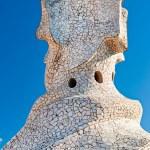 BARCELONA, SPAIN - DECEMBER 18: Casa Mila, or La Pedrera, on Dec — Stock Photo #12236710