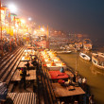 ������, ������: VARANASI DECEMBER 13: Hindu priests during religious Ganga Aar