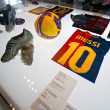 BARCELON- SPAIN, DECEMBER 19: FC Barcelonmuseum inaugura — Stock Photo #12236761
